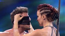 AGT's Trapeze Couple, Whose Gravity-Defying Act Went Wrong, Perform Failed Blindfolded Trick Again
