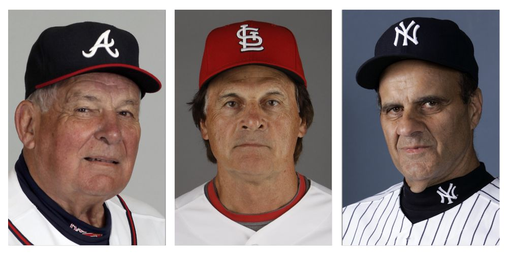 Torre, La Russa, Cox on Hall of Fame ballot