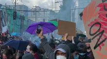 Police Targeted With 'Improvised Explosives' During Tense Seattle Protests