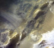 Incredible new photo shows Mars bathed in dramatic light