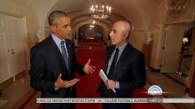Obama Dismissive of Possible Trump Presidency