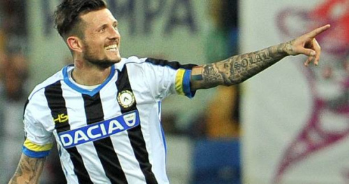 Foot - ITA - 29e j. - Cyril Thereau marque encore pour l'Udinese contre Palerme