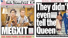 Megxit: How newspapers reacted to Harry and Meghan 'stepping back' from Royal Family