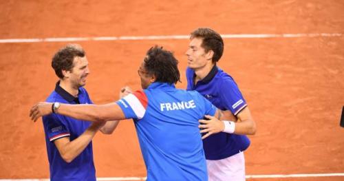 Coupe Davis - Coupe Davis : La France se qualifie pour les demi-finales en dominant la Grande-Bretagne 3-0