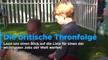 Wie Prinz Harrys und Herzogin Meghans Baby die Thronfolge durcheinander bringt