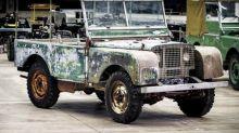 Ritrovata in un giardino la prima Land Rover della storia: valore inestimabile