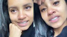Ex-BBB Gleici posta vídeo chorando: 'É difícil aguentar algumas coisas'