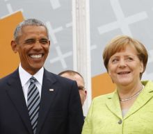 Obama in Berlin: 'We can't hide behind a wall'