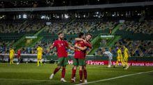 Sem Cristiano Ronaldo, Portugal bate a Suécia com facilidade na Liga das Nações; Diogo Jota faz dois