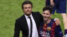 """Luis Enrique : """"J'aurais préféré que Messi et le Barça arrivent à un accord"""""""