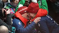 Lizzy Yarnold's emotional Valentine's Day