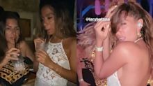 """Anitta rebate seguidor sobre roupa transparente em balada: """"Até cachorro tem mamilo"""""""