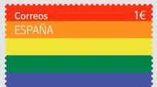 Correos recauda 16.174 euros con la venta de 12.874 sellos del Orgullo LGTBI