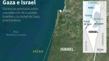 Bombardeo israelí contra la casa de jefe de Hamás en Gaza antes de una reunión de la ONU