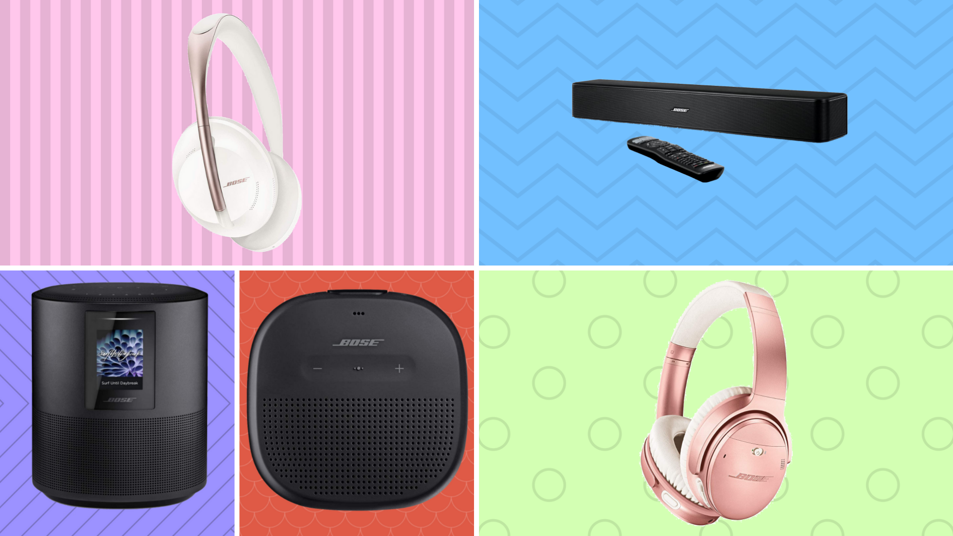 Best Bose headphones and speakers sales at Amazon