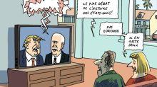 L'actu en dessin: le débat chaotique entre Donald Trump et Joe Biden