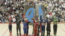 High school dance team's 'Avengers' routine hailed as 'a masterpiece'