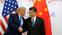 US STOCKS-Wall St rallies on stimulus cheer, trade optimism