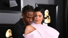 Grammys 2019: Kylie Jenner and Travis Scott kiss on the red carpet