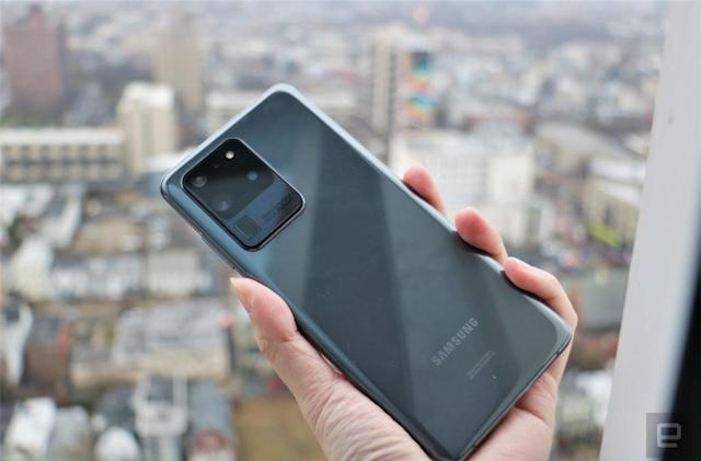 Samsung rolls out camera fix for Galaxy S20 Ultra in the US