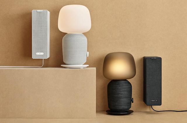 IKEA's Sonos-powered lamp and bookshelf are speakers in disguise