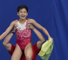 Perfect 10s: China's Quan dominates for Olympic diving gold