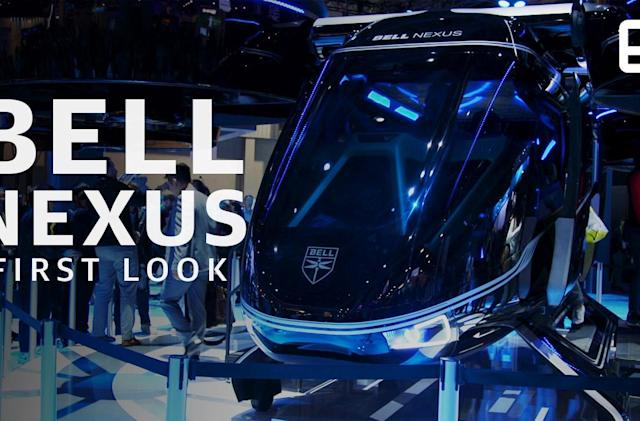 Take a look at Bell and Uber's flying taxi of the future