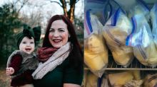 Mum who donated 65 litres of breast milk to other mothers inundated with requests from men wanting to be 'nursed'