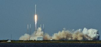 SpaceX successfully lands rocket's first stage after space launch