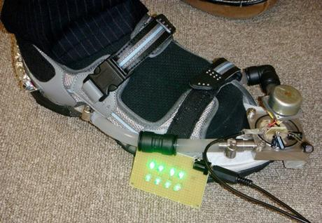 NTT's energy-generating shoes spotted without any sign of style
