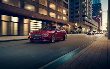 韓系豪華運動房車新標竿! Genesis G70小改款韓國率先發表!