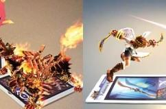 Kid Icarus: Uprising has hundreds of AR cards, make space in your binder