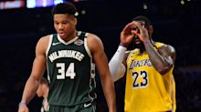 Giannis Antetokounmpo is the NBA's MVP again, but LeBron James still owns the playoffs