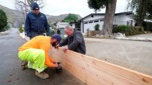 Heavy rain and snow pound California, raising mudslide risk
