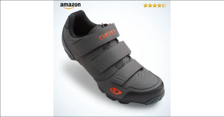 Giro Carbide R MTB Shoes Dark Shadow/Flame Orange