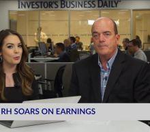 RH Soars On Earnings