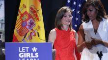 Michelle Obama y la reina Letizia: duelo de estilo