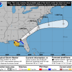 Post-Tropical Cyclone Nestor Makes Landfall in Florida. Here's What to Know About Its Path