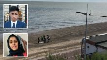 Siblings died 'playing game to see how far they could swim out to sea'