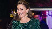Kate Middleton just wore THE SPARKLIEST emerald ballgown on tour