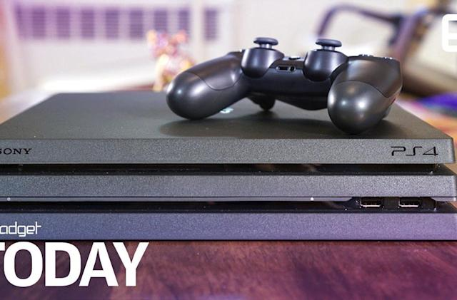 Sony sneaks out a quieter PS4 Pro