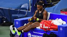 Frustrated Serena Williams says performance in shock defeat was 'like dating a guy that you know sucks'