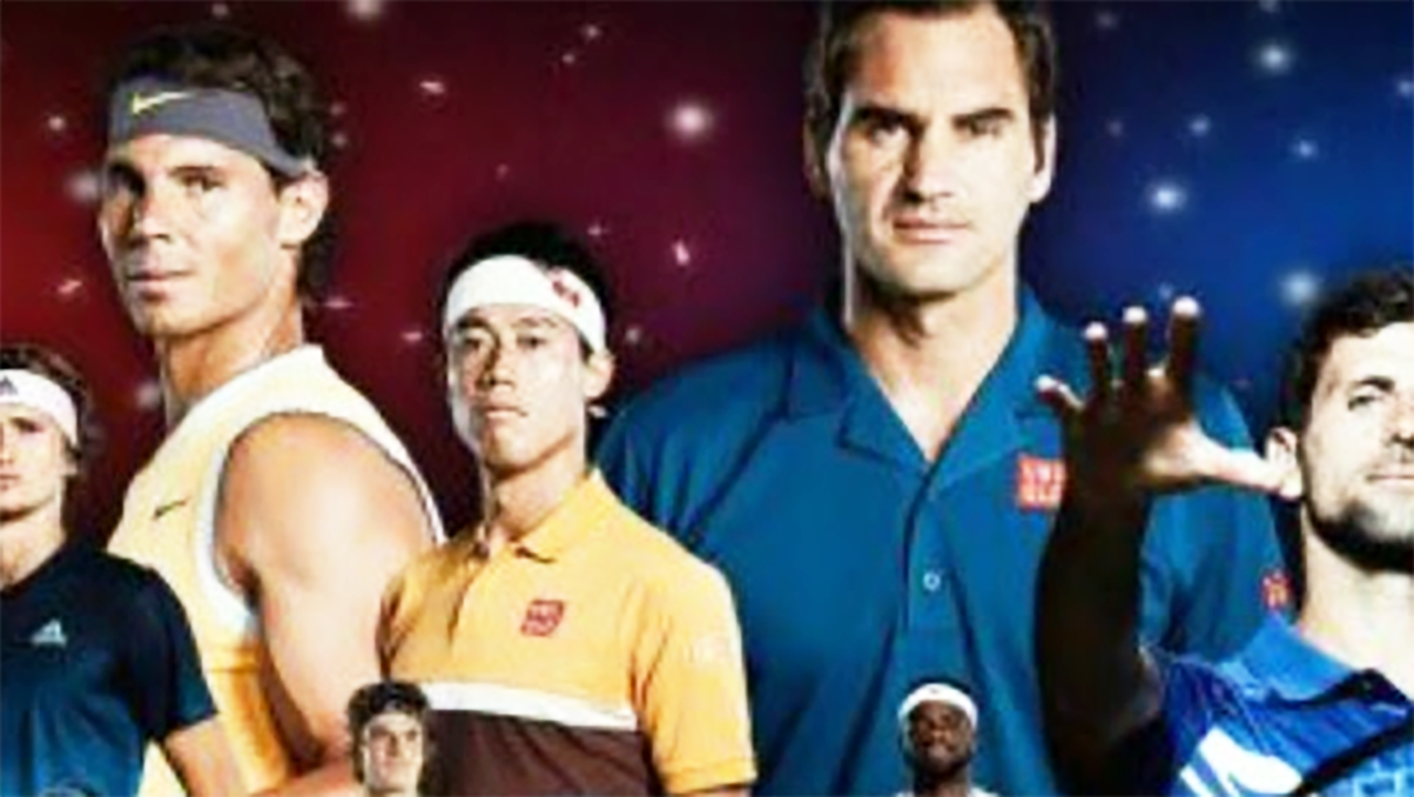 Tennis world erupts over controversial image of Federer and Nadal