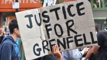 Grenfell Tower survivors shut out of first council meeting amid fears of protest