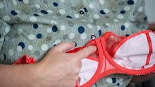 Woman left with 'hole' in chest after years of wearing tight underwired bras