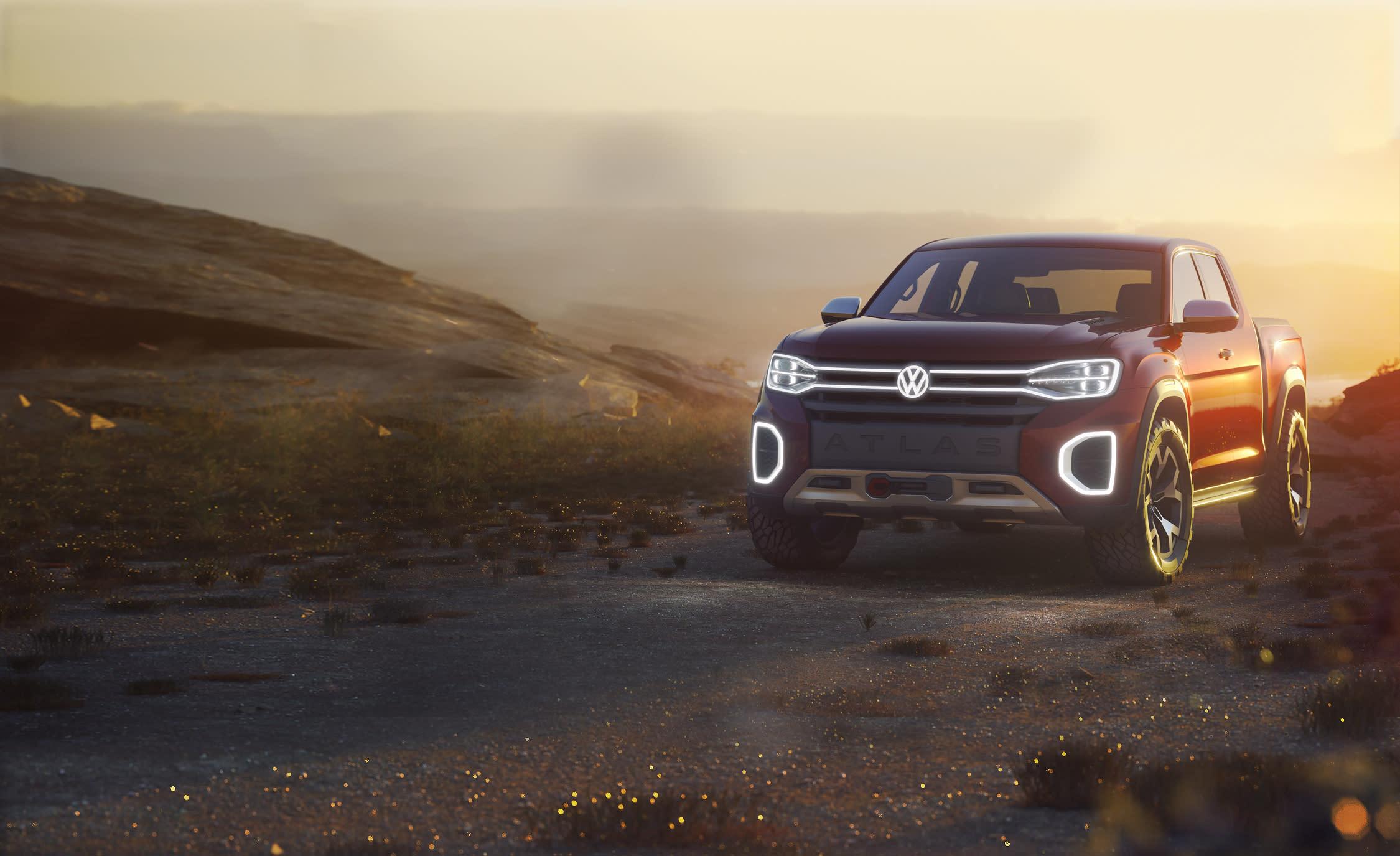 Volkswagen Atlas Tanoak Pickup Concept: It Could Happen!