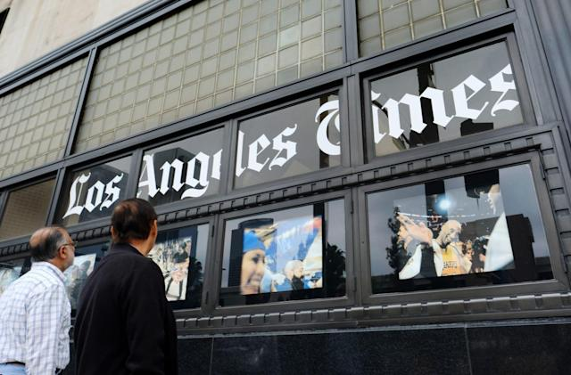 Malware stalls delivery of LA Times and other major US newspapers