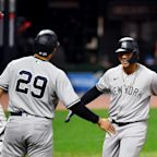 MLB wild-card updates: Yankees pummel likely AL Cy Young in Game 1 win