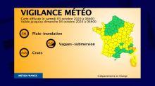 Météo: un temps encore très perturbé pour ce samedi, fin de l'alerte rouge dans les Alpes-Maritimes