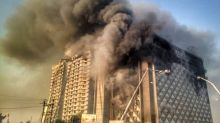 Fire at Surat market complex; 70 fire engines rushed to the spot